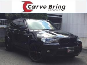 BMW X5 xDrive 35i Mスポーツパッケージ 直6ターボ 黒革SRHDD地デジBカメラ