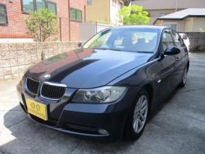 BMW 3シリーズ 320i 社外ナビゲーションETCウッドパネルHIDキセノンライト プッシュスターターポタン純正キーレス新車整備手帳 保証書 正規ディーラー車