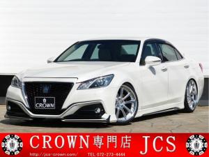 トヨタ クラウン Jタイガー RS-G レオンハルト20AW 本革 モデリスタ