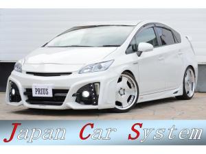 トヨタ プリウス S フルカスタム KENSTYLE/モードパルファム/TEIN/WORKランベックLD1/ロベルタ/クラッツィオ等 エア車高調整リフターシステム付