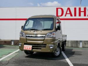 ダイハツ ハイゼットトラック ジャンボSAIIIt 未使用車 オートマ LEDヘッドランプ AC パワーウインドウ 衝突軽減ブレーキ キーレスエントリー ABS WエアB