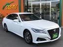 トヨタ/クラウンハイブリッド S SDナビTV セーフティセンス
