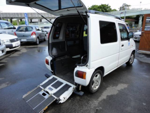 マツダ AZワゴン FX スローパー 車椅子移動車 福祉車輛 8ナンバー