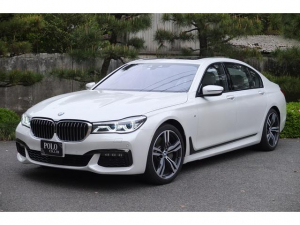 BMW 7シリーズ 750Li Mスポーツ ワンオーナー 記録簿付き 禁煙車 HDDナビ フルセグTV スカイラウンジサンルーフ バックカメラ