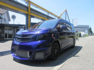 トヨタ ヴォクシー ZS エアサス公認 フルエアロマフラー18アルミ