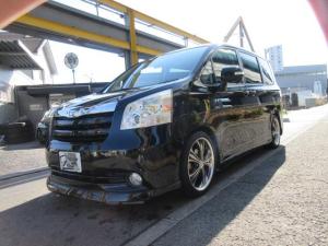 トヨタ ノア X Lセレクション 社外フルエアロ車高調 18インチアルミフルセグナビ