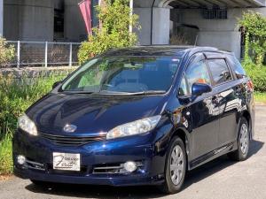 トヨタ ウィッシュ 1.8X 純正ワンセグナビバックカメラ スマートキー禁煙車