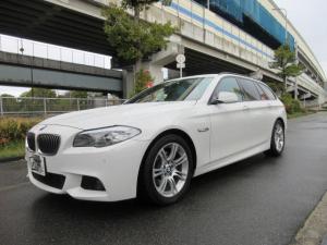 BMW 5シリーズ 528iツーリング Mスポーツパッケージ 純正フルセグナビバックカメラ レザーシートシートヒーター