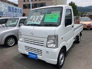 マツダ スクラムトラック KC ワンオーナー車 4WD エアコン パワステ