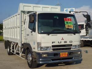 三菱ふそう ファイター 平ボディ スクラップ運搬車 増トン 積載8.4t ベッド付