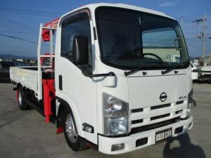 日産 アトラストラック 4段クレーン ラジコン付 フックイン 積載2.8t