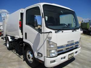 いすゞ エルフトラック  プレスパッカー 積載3t 連続スイッチ モリタ製