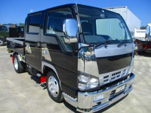 いすゞ エルフトラック  Wキャブ 積載2t メッキパーツ アルミパーツ