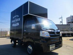 ダイハツ ハイゼットトラック  移動販売車 電動給水ポンプ 外部電源 給水タンク 冷蔵冷凍ストッカー
