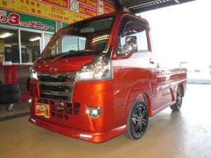 ダイハツ ハイゼットトラック  4WDエクストラSAIIItエアロメッキLED15アルミ届出済未使用車コンプリートカスタムデモカー