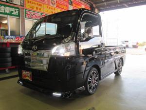 トヨタ ピクシストラック エアロメッキLED15アルミ車検対応公認車高調ローダウンAT