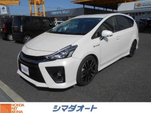 トヨタ プリウスアルファ Sツーリングセレクション・G's 純正ナビ フルセグ ETC
