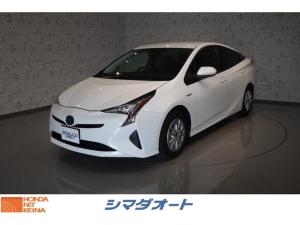 トヨタ プリウス S 衝突被害軽減ブレーキ 元レンタカー 純正SDナビ CD