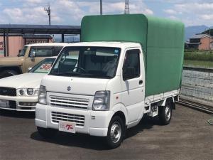 スズキ キャリイトラック KCエアコン・パワステ オートマチック車 ホロ付