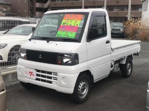 三菱 ミニキャブトラック Vタイプ AC MT 修復歴無 軽トラック ワンオーナー オーディオ付 新品シートカバー