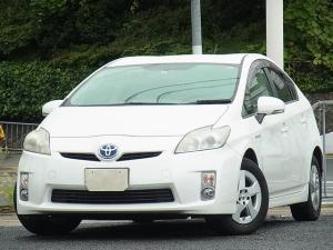 トヨタ プリウス S HDDナビ ETC サイドカーテンエアバッグ プッシュスタートスマートキー タイミングチェーン