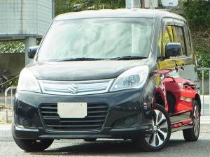 スズキ ソリオ X-DJE レーダーブレーキサポート ナビTV 左側電動スライドドア プッシュスタートスマートキー タイミングチェーン
