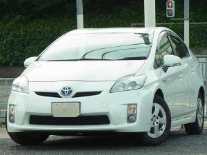 トヨタ プリウス S バックモニター付ナビTV ETC サイドカーテンエアバッグ プッシュスタートスマートキー タイミングチェーン