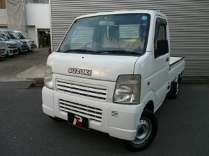 スズキ キャリイトラック KCエアコン・パワステ 4WD 5MT 三方開