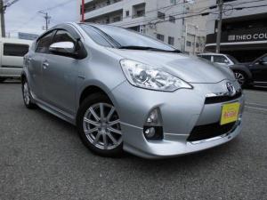 トヨタ アクア G モデリスタエアロ ナビETC