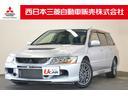 三菱/ランサーワゴン エボリューションGT CDステレオ BBSアルミホイール