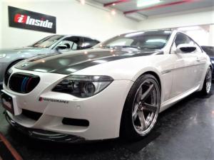 BMW M6 カーボンルーフ可変マフラ足回り20AW白革ナビカーボンエアロ