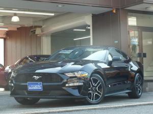 フォード マスタング エコブーストプレミアム 10AT アップルカープレイ