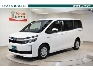 トヨタ ヴォクシー ハイブリッドX トヨタ認定車 ナビ フルセグ