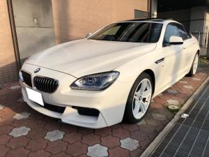 BMW 6シリーズ 640iグランクーペ Mスポーツ 黒レザー/LEDヘッドライト/ガラスサンルーフ/車線逸脱警告/被害軽減ブレーキ