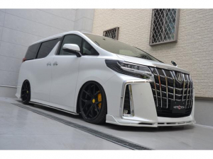 トヨタ アルファード 2.5S Cパッケージ AFFECTION新車カスタムコンプリートカー 21インチアルミ ローダウン ディスプレイオーディオ