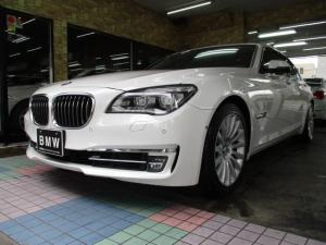 BMW 7シリーズ アクティブハイブリッド7L ユーザー下取り インテリジェントセーフティ レーンディパーチャー 黒革 シートヒーター&シートエアコン サンルーフ パワートランク イージークローザー