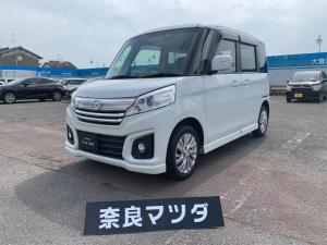 マツダ フレアワゴンカスタムスタイル XG ターボ 8型ナビ&TV バックモニター付