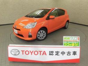 トヨタ アクア S HDDナビ フルセグ スマートキ- イモビライザー