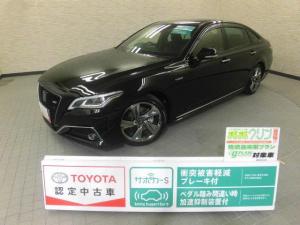 トヨタ クラウンハイブリッド RS メモリーナビ フルセグ スマートキ- イモビライザー