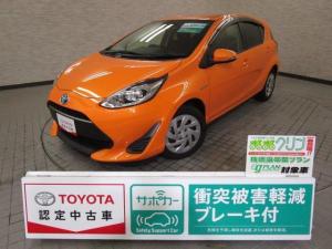 トヨタ アクア S スマートキ- イモビライザー メモリーナビ ワンセグ