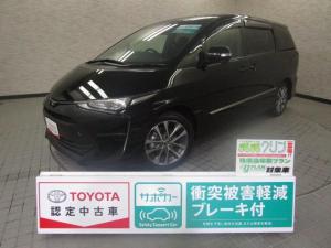 トヨタ エスティマ アエラス 衝突被害軽減ブレーキ スマートキ- ワンオーナー