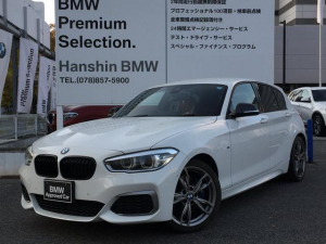 BMW 1シリーズ M140認定保証後期Lci赤レザアドバンスパーキングサポ-ト
