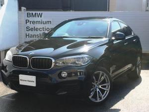 BMW X6 xDrive35iMスポーツ認定保証赤革セレクトPサンルーフ