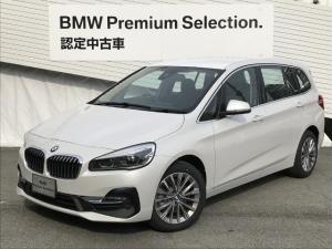 BMW 2シリーズ 218dグランツアラーラグジュアリー元デモカー認定保証