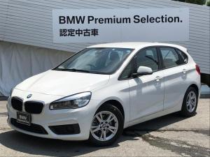 BMW 2シリーズ 218dアクティブツアラー認定保証付HDDナビBカメラ