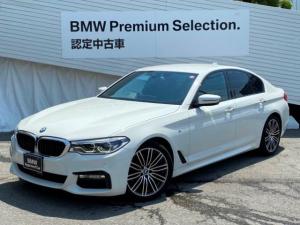 BMW 5シリーズ 523d Mスポーツ認定保証1オーナーLEDライト地デジ