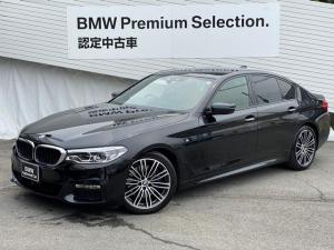 BMW 5シリーズ 530i Mスポーツ認定保証1オーナMブレーキ地デジ電動リア