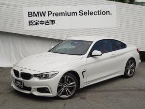 BMW 4シリーズ 435iクーペ Mスポーツ 赤レザー ヘッドアップディスプレイ 純正HDDナビ 地デジ・DVD再生 シートヒータ 純正OP19AW 軽減ブレーキ パドルシフト バックカメラ ミラーETC