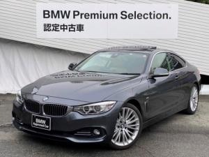 BMW 4シリーズ 435iクーペ Mスポーツ 純正HDDナビ・ベージュレザーシート・電動フロントシート・ミラー型ETC・純正19インチAW・サンルーフ・インテリジェントセーフティ・トップビューカメラ・地デジ・ヘッドアップディスプレイ・F32