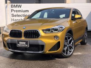 BMW X2 sDrive 18i MスポーツX 純正HDDナビ DVD再生 バックカメラ アクティブクル-ズコントロ-ル LEDヘッドライト ヘッドアップディスプレィ 衝突軽減ブレ-キ 電動リヤゲ-ト ミラ-型ETC バックカメラ シートヒーター